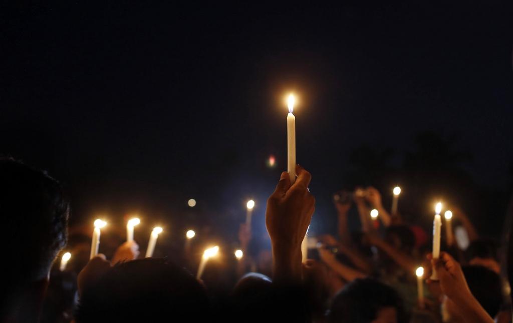 Gedenkfeier in Dhaka, Bangladesh (Keystone/AP Photo/A.M. Ahad)
