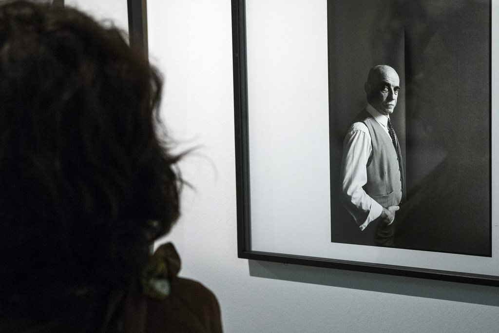 Fotoausstellung in Paris, Frankreich (Keystone/EPA/Etienne Laurent)