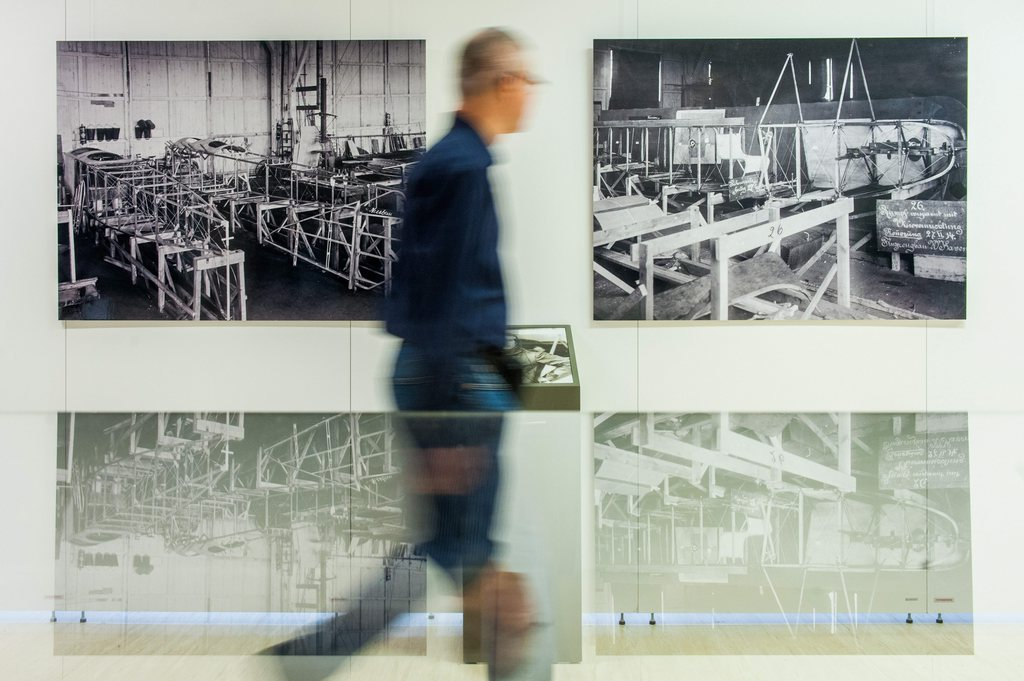 Fotoausstellung in Berlin, Deutschland (Keystone/EPA/Hauke-Christian Dittrich)