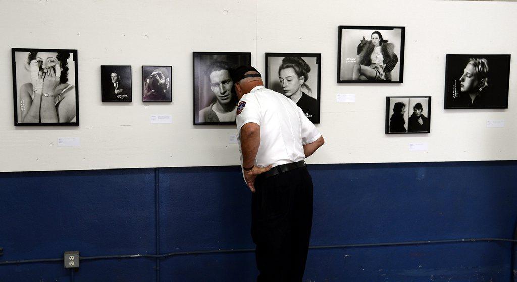 Fotoausstellung in Hollywood, USA (Keystone/EPA/Michael Nelson)