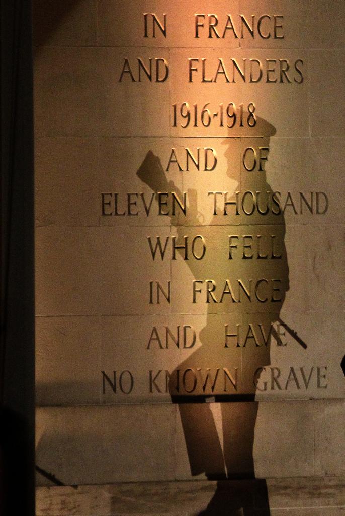 Gedenkfeiern in Villers-Bretonneux, Frankreich (Keystone/AP Photo/Michel Spingler)