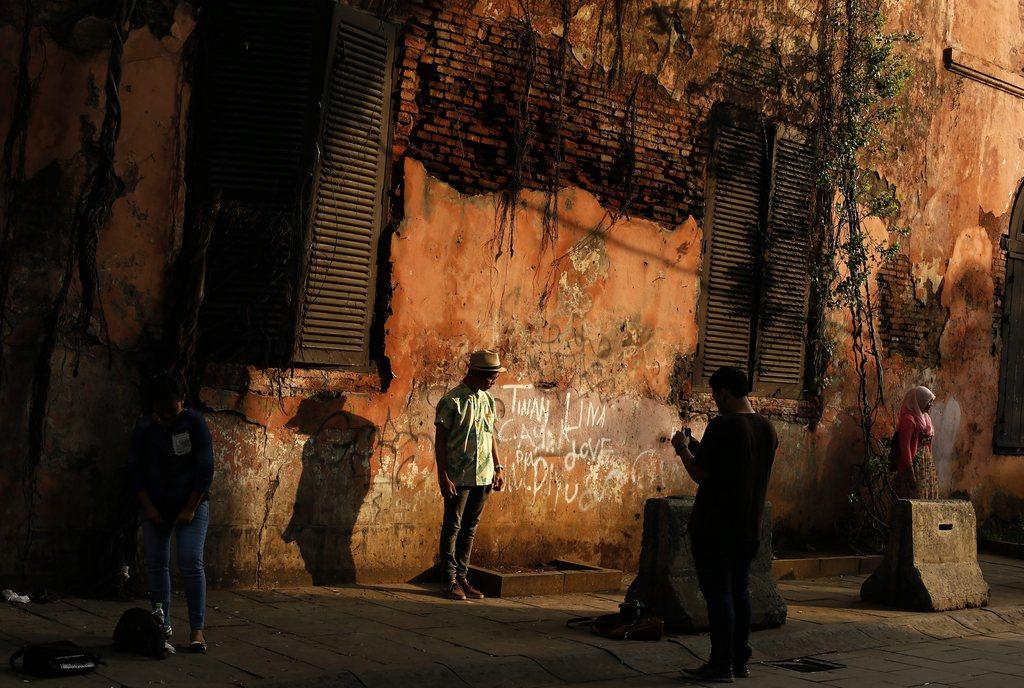 Straßenfotografie in Djakarta, Indonesien, EPA/MAST IRHAM