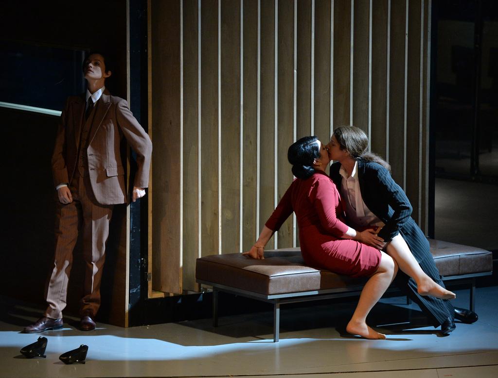 Szene aus Mozarts Oper La Clemenza di Tito, Salzburg A, APA-FOTO: BARBARA GINDL