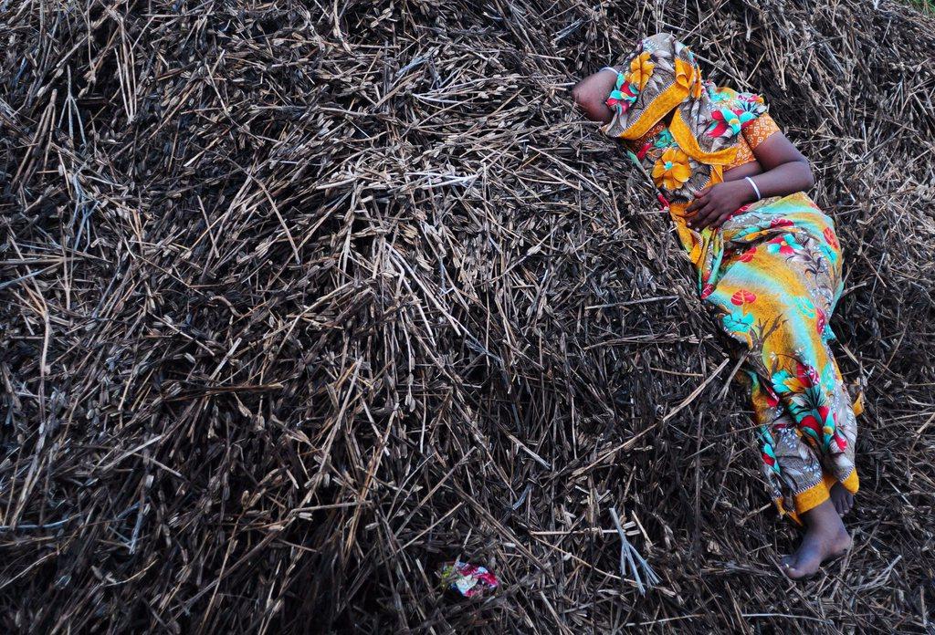 Am Rande eines Festes in Koovagam, Indien (Keystone/EPA/Jagadeesh NV)