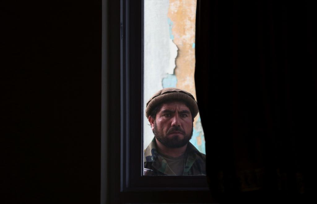 Bodyguard in Kabul, Afghanistan (Keystone/AP Photo/Massoud Hossaini)