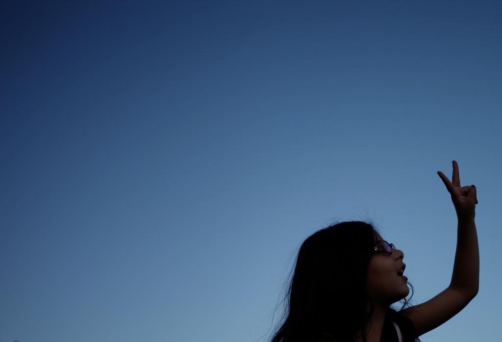 Palästinensisches Mädchen in Amman, Jordanien (Keystone/AP Photo/Mohammad Hannon)