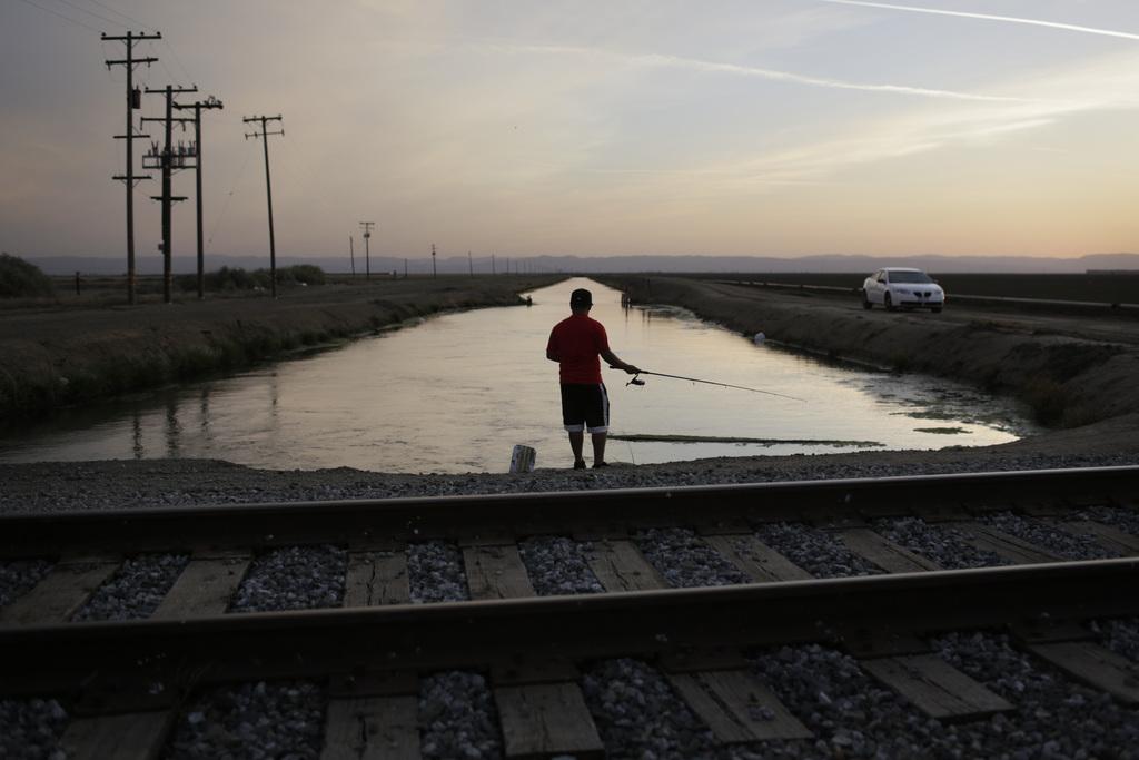 Fischer in Mendota, USA (Keystone/AP Photo/Jae C. Hong)