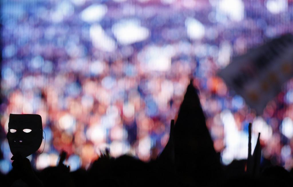Endspurt im Europawahlkampf in Rom, Italien (Keystone/AP Photo/Gregorio Borgia)