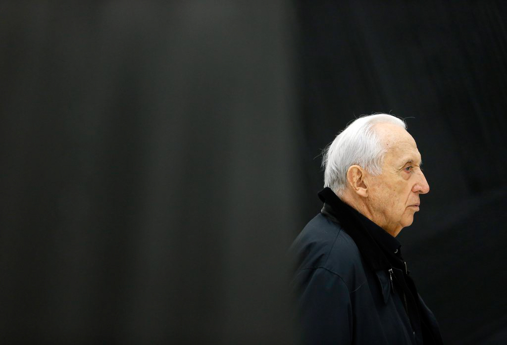 Pierre Soulages in Rodez, Frankreich (Keystone/EPA/Guillaume Horcajuelo)