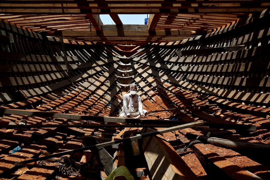 Schiffsbau auf der Insel Qeshm, Iran (AP Photo/Ebrahim Noroozi)