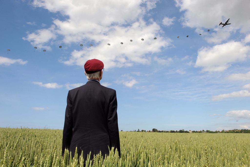 Erinnerung an den D-Day in Ranville, Frankreich (Keystone/AP Photo/Thomas Bregardis)