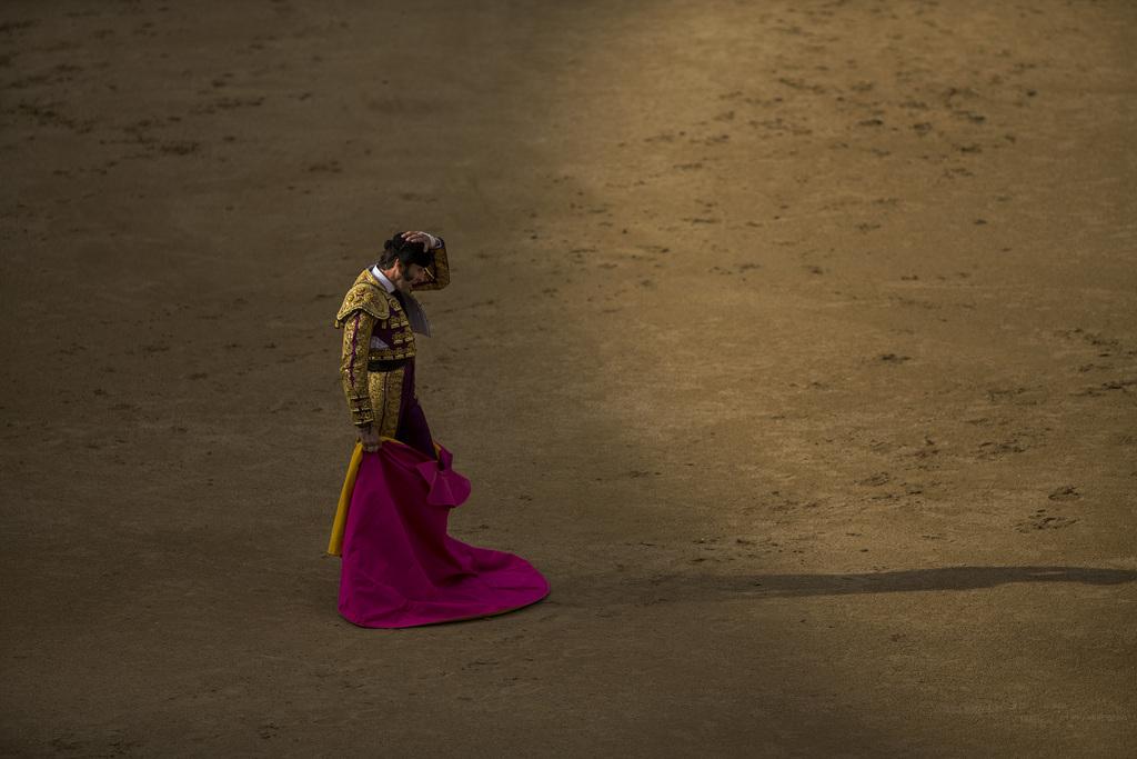 Stierkampf in Madrid, Spanien (Keystone/AP Photo/Andres Kudacki)