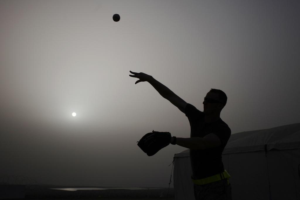 Baseball in Amman, Jordanien (Keystone/AP Photo/Mohammad Hannon)
