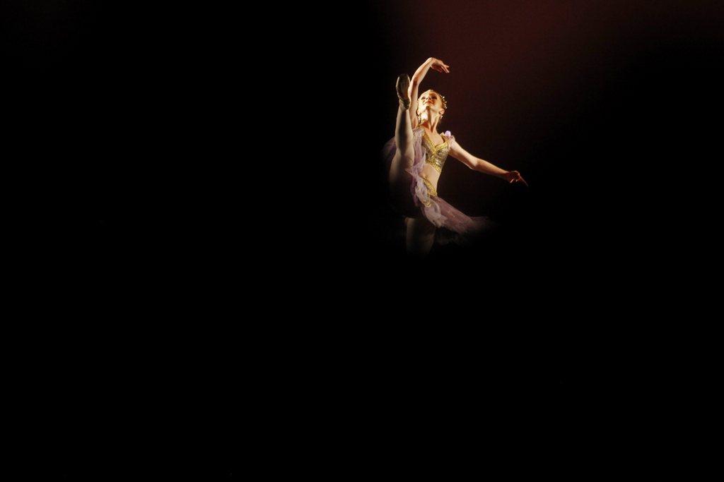 Ballett-Festival in Cali, Kolumbien (Keystone/EPA/Christian Escobar Mora)
