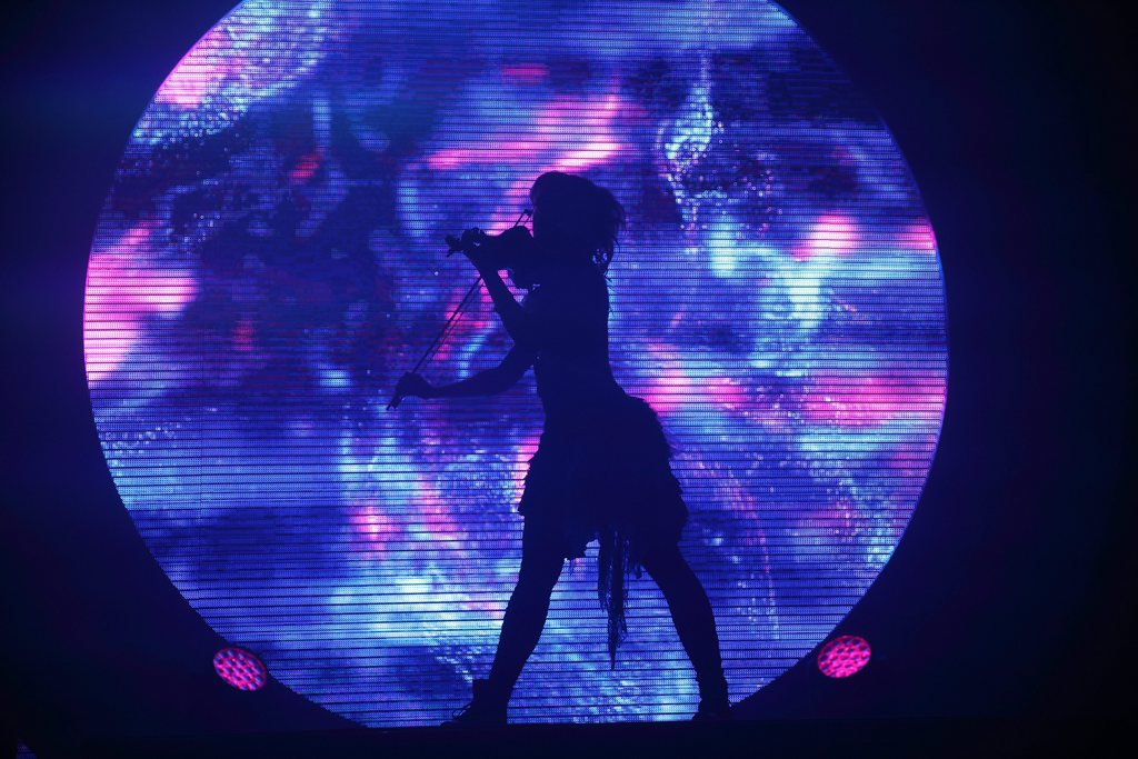 Musikshow mit Lindsey Sterling, Indianapolis, USA, EPA/Steve C Mitchell