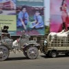 Transport in Haiderabad, Indien (AP Photo/Mahesh Kumar A.)