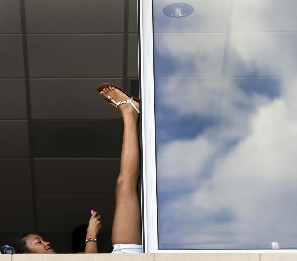Entspannen in Blue Springs, USA (Keystone/AP Photo/Allison Long)