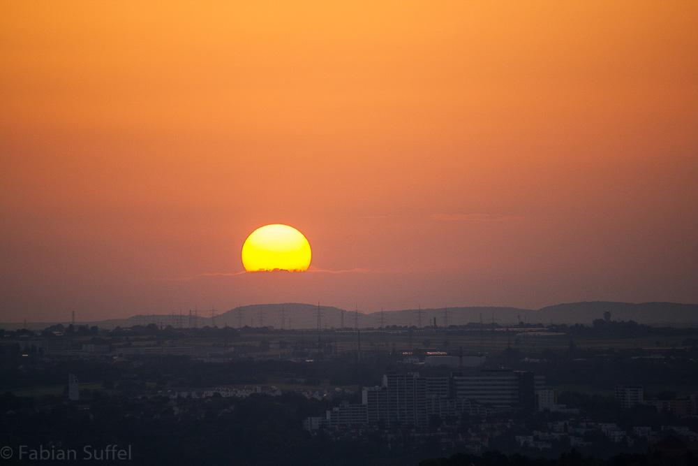 Abb. 15: Bild 'Sonnenuntergang in den Wolken' (Quelle: Fabian Suffel)