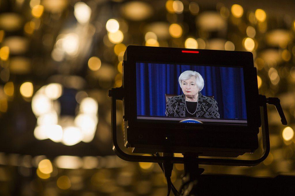 Janet Yellen in Washington, USA (Keystone/EPA/Jim Lo Scalzo)