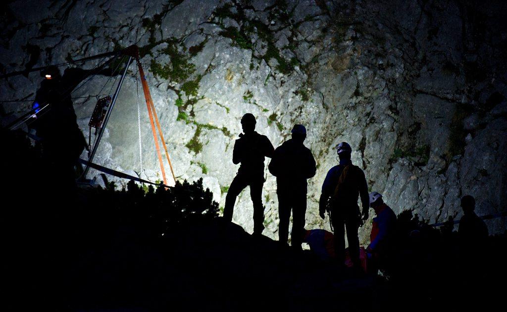 Rettungsaktion in Berchtesgade, Deutschland (Keystone/EPA/Nicolas Armer)