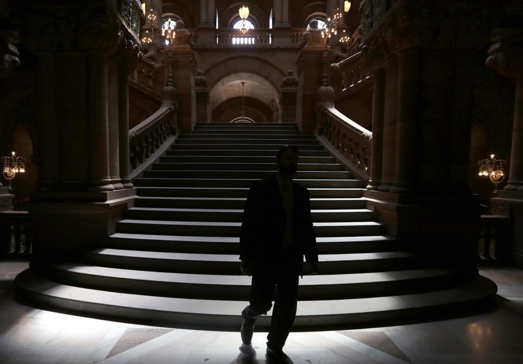 Im Parlament in Albany,USA (Keystone/AP Photo/Mike Groll)