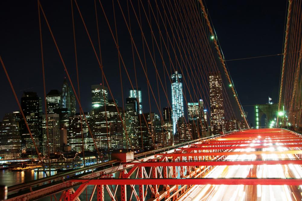 Leserfoto – Brooklyn Bridge bei Nacht: Vor- und Nachbereitung in herausfordernden Belichtungssituationen