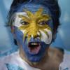 Argentinischer Fußball-Fan in Rio de Janeiro, Brasilien (Keystone/AP Photo/Felipe Dana)