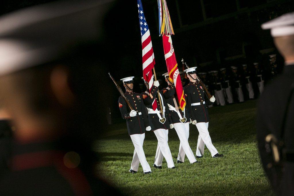 Parade in Washington, USA (Keystone/EPA/Kristoffer Tripplaar)