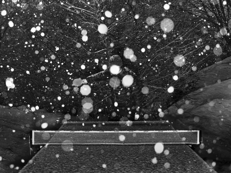 Alec Soth St. Paul, 2014 Offsetdruck 193 x 269,2 cm in 64 Teilen © Alec Soth / Magnum-Foto