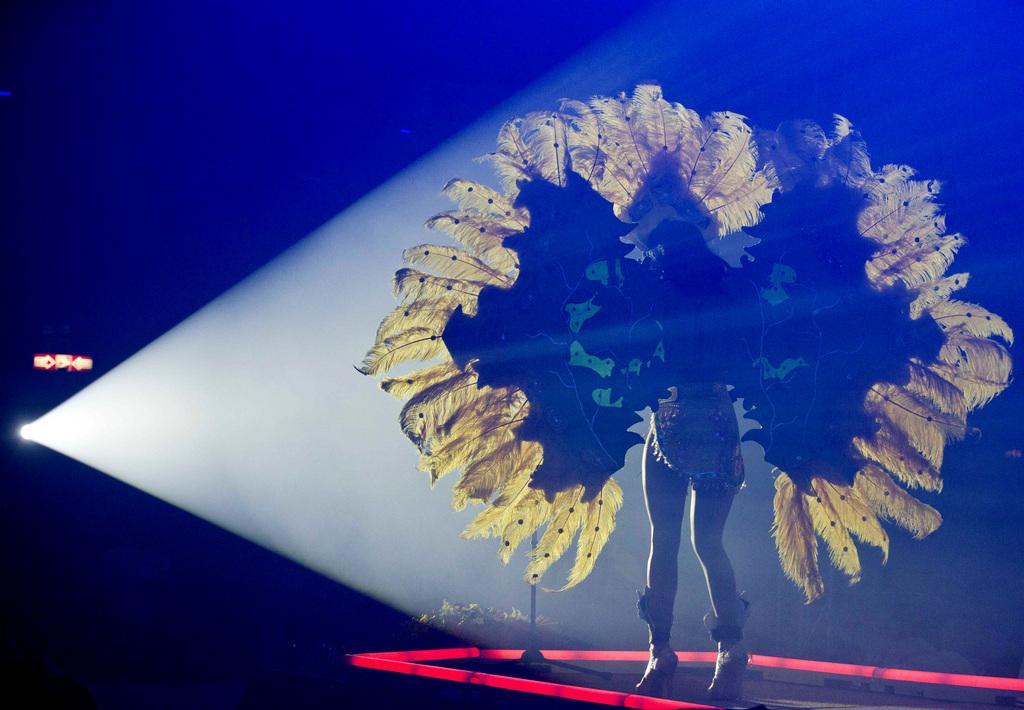 Im Rampenlicht: Miss Gay-Wettbewerb in Nicaragua  (AP Photo/Esteban Felix)