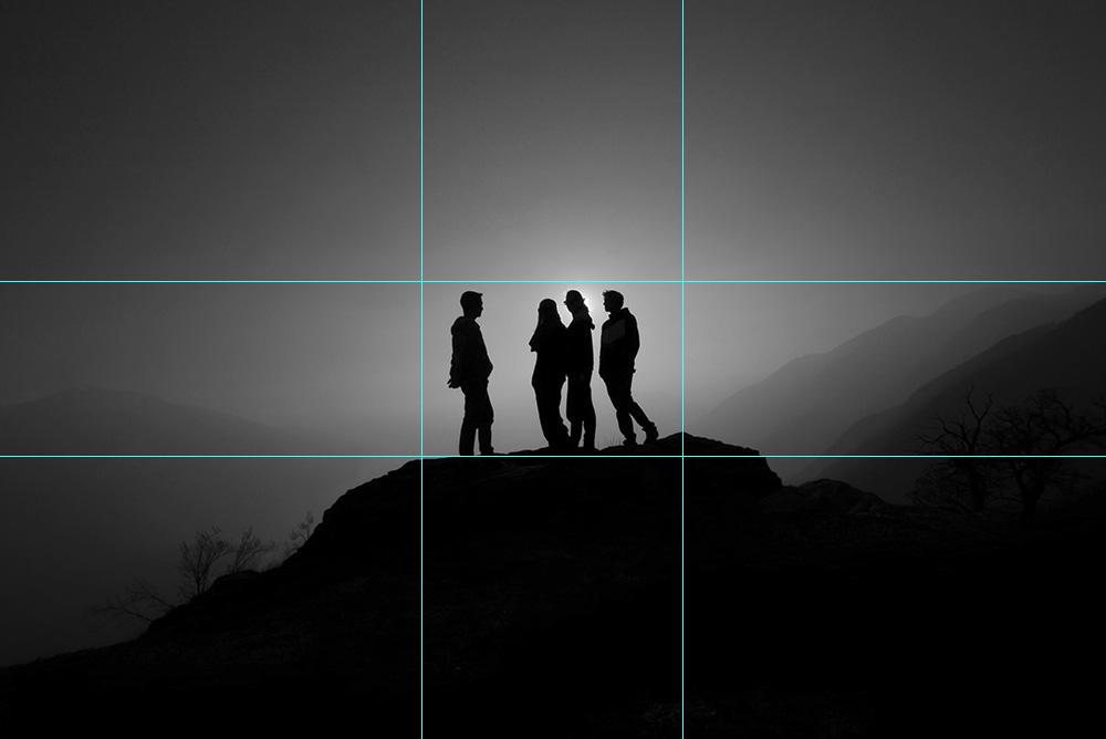 Komposition: Bildanlage
