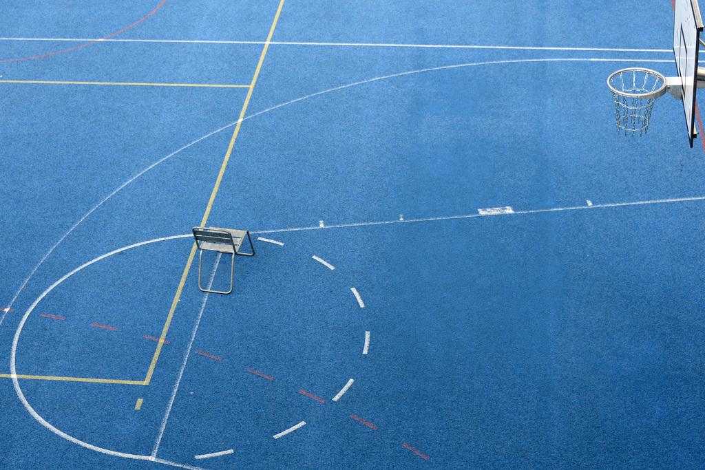 Basketballplatz in Basel, Schweiz (Keystone/Georgios Kefalas)