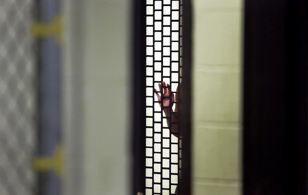 Im Gefängnis von Chicago, USA (Keystone/AP Photo/Charles Rex Arbogast)