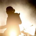 Die Arctic Monkeys in Lissabon, Portugal (Keystone/EPA/Manuel De Almeida)