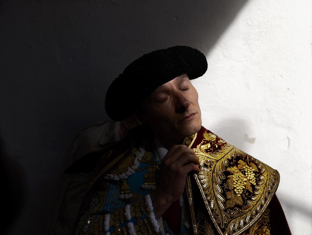 Torero vor dem Kampf, Pamplona, Spanien (AP Photo/Daniel Ochoa de Olza)
