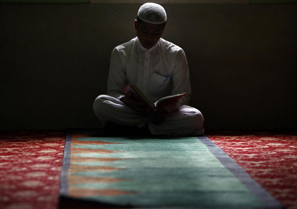 In einer Moschee in Katmandu, Nepal (AP Photo/Niranjan Shrestha)