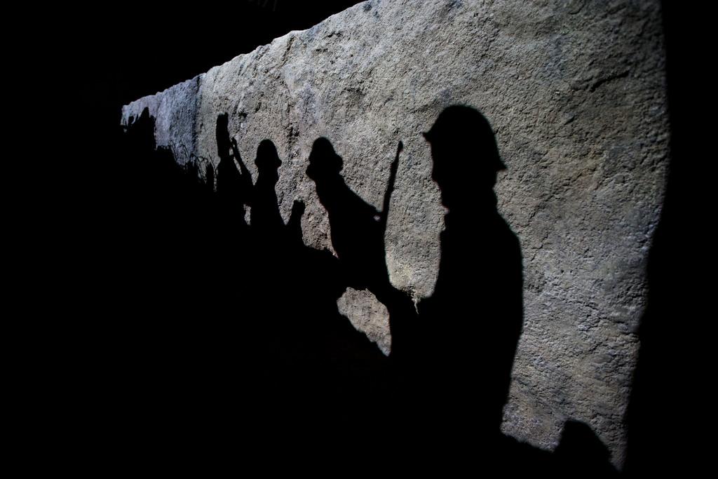 Szene im Imperial World War Museum in London, Großbritannien (Keystone/AP Photo/Matt Dunham)