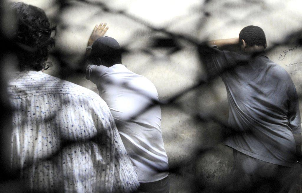 Angeklagte in Kairo, Ägypten (Keystone/EPA/Hossam Fadl)