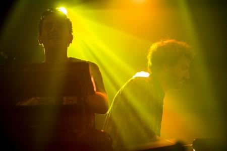 Olivier Bruggemann und Tom Devos in Montreux, Schweiz (Keystone/Anthony Anex)
