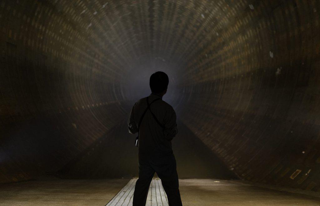 Licht im Tunnel, Tokio, Japan, EPA/FRANCK ROBICHON