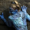 Body-Painting in New York, USA (Keystone/AP Photo/John Minchillo)