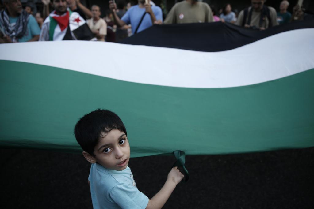 Proteste in Athen, Griechenland (Keystone/AP Photo/Petros Giannakouris)