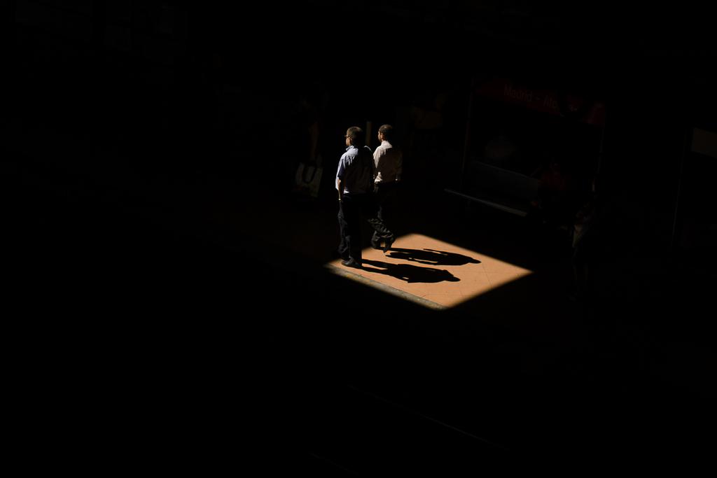 Zweiter Tag des Zugstreiks in Madrid, Spanien (Keystone/AP Photo/Andres Kudacki)
