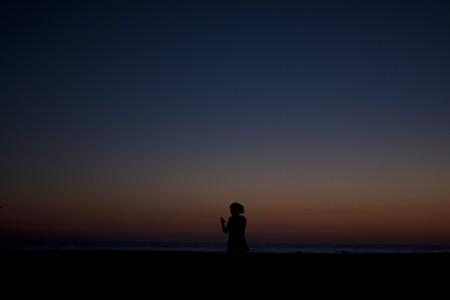 Sonnenuntergang in Zahara de los Atunes, Spanien (Keystone/AP Photo/Paul White)