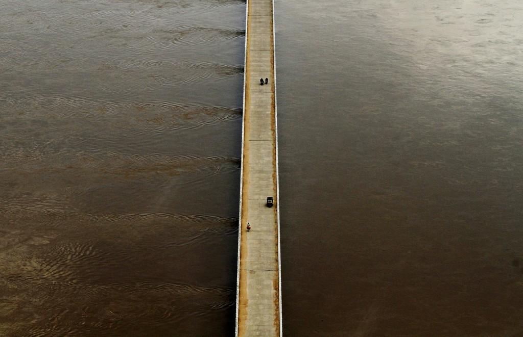 Monsun in Kendrapara, Indien (Keystone/AP Photo/Biswaranjan Rout)