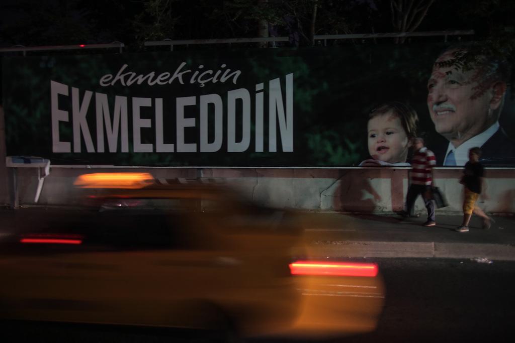 Wahlkampf in Istanbul, Türkei (Keystone/AP Photo/Emrah Gurel)