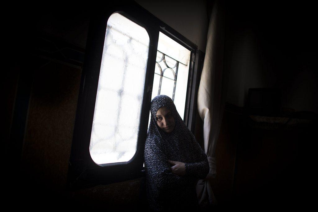 Trauernde in Gaza Stadt (Keystone/EPA/Oliver Weiken)