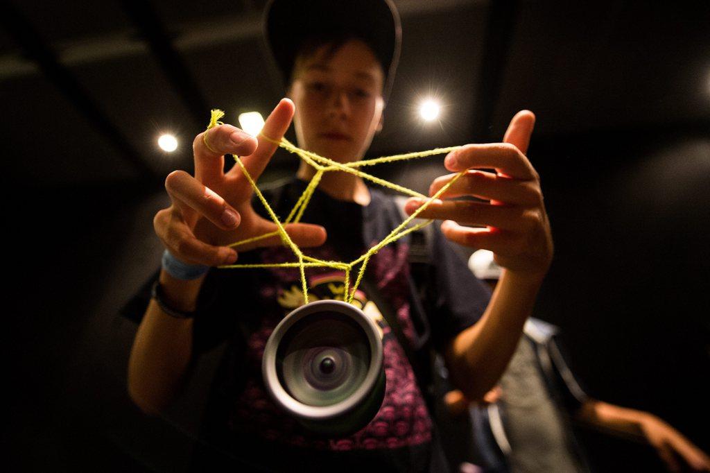 Am Rande der Yo-Yo-Weltmeisterschaft in Prag, Tschechien (Keystone/EPA/Filip Singer)