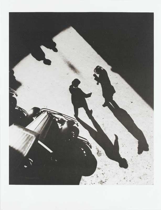 Anton Stankowski, Begrüßung Zürich Riedenplatz, 1932-1980, schwarzweiß Fotografie, 31,6 x 24,2 cm, Staatsgalerie Stuttgart, Graphische Sammlung © Stankowski-Stiftung 2014