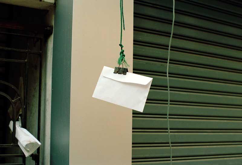 Paulien Oltheten, Envelope, Rangoon 2012 © Paulien Oltheten